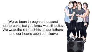 Hearts Upon Our Sleeve - 5 Seconds of Summer ft. Scott Mills (Lyrics)