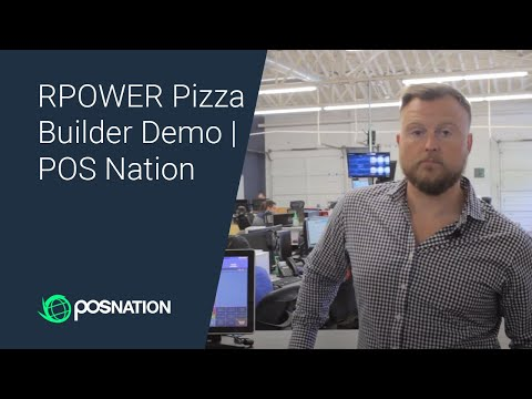 RPOWER Pizza Builder Demo | POS Nation
