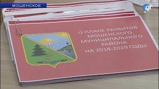 По поручению Андрея Никитина в Мошенском появится четкий план приемов врачей-специалистов