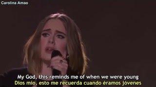 Gambar cover Adele - When We Were Young [Lyrics + Sub Español]