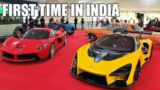 McLaren Senna & LaFerrari in INDIA - 2019 Parx Supercar Show Mumbai
