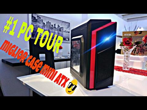 PC TOUR #1 Miglior case pc mini atx [ECONOMICO]CiT-Case Midi F3 4K