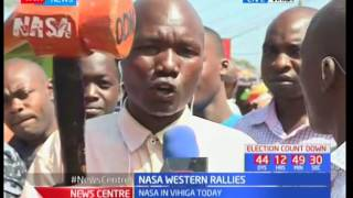 NASA in Western : Leaders expected to visit Vihiga County