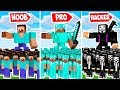 Minecraft Noob vs Pro ARMY BATTLE FOR O