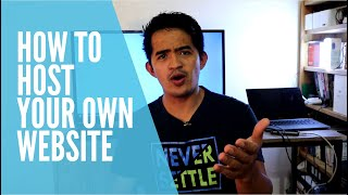 How to host your own Website from home