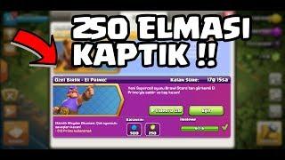 250 ELMASI CEBE ATTIK !! | CLASH OF CLANS