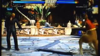 Tekken Tag Tournament 2 | Kazuya with a gun Item moves