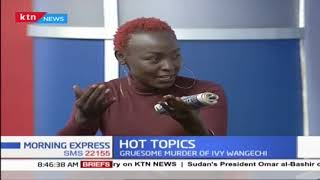 Gruesome murder of Ivy, Eddy Kimani talks about depression | Hot Topics