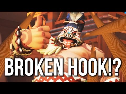 Overwatch to see an update nerfing Roadhog's hook