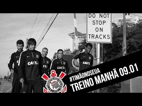 #TimãonosEUA | Treino manhã - 09.01.2015