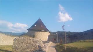 Touring the Historical Ancient  castles of Slovakia ,Trencin Castle