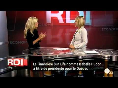 Gérald Fillion – Isabelle Hudon à la Sun Life