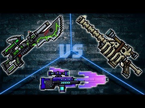 Comet VS Wyvern VS Bone Sniper Rifle - Pixel Gun 3D