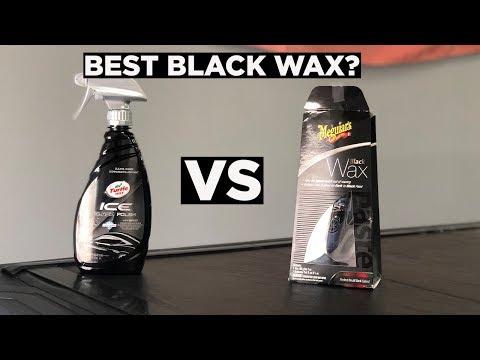 DOES BLACK WAX REALLY DO ANYTHING? MEGUIARS BLACK WAX V TURTLE WAX ICE BLACK POLISH