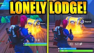 """""""Search Chests in Lonely Lodge"""" All Chest Locations Lonely Lodge Seach Chests Challenge!"""