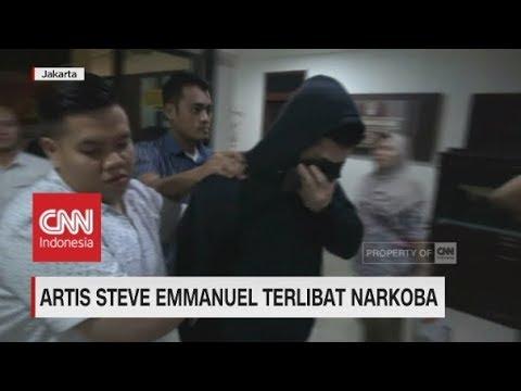 Artis Steve Emmanuel Ditangkap Terkait Narkoba