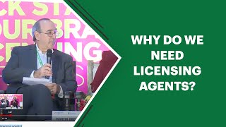 Why do we need licensing agents?...