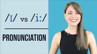 /I/ Vs /i:/    Learn English Pronunciation   Minimal Pairs Practice