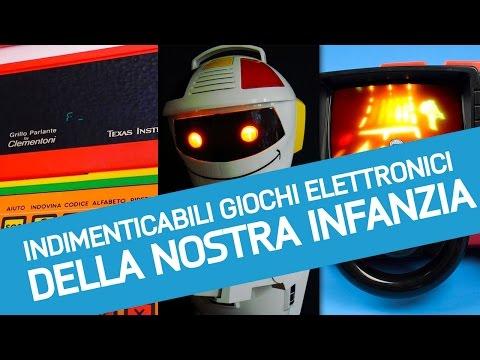 Dal Grillo Parlante al Robot Emiglio: gli indimenticabili giochi elettronici degli anni '80 e '90