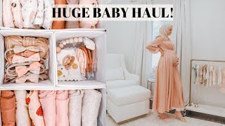 HUGE Newborn Baby Haul! Everything I've Gotten for Baby So Far!