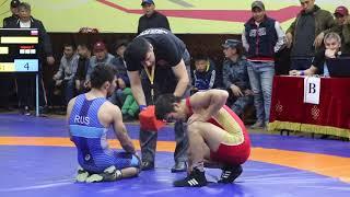 Чемпионат СФО по вольной борьбе, Кызыл, май 2018