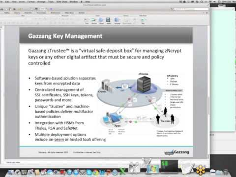 Keeping Data Safe Using Gazzang