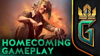GWENT: THE WITCHER CARD GAME   Homecoming Developer Stream 05.10.2018