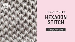 Hexagon stitch