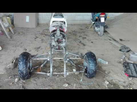 Homemade Reverse Trike, Raw Motor Sound - смотреть онлайн на Hah Life