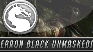 Mortal Kombat X Erron Black No Mask Unmasked Gameplay - Free