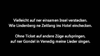 Johannes Oerding - Einfach nur weg (Lyrics)
