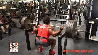 Grueling Leg Day with An IFBB Pro