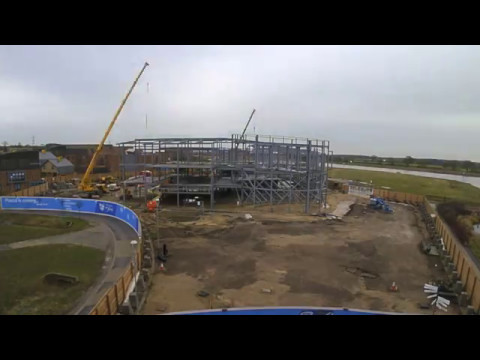 Piazza Learning Centre Steelwork 2