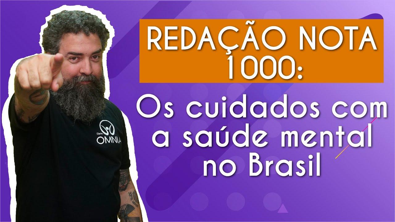Os cuidados com a saúde mental no Brasil