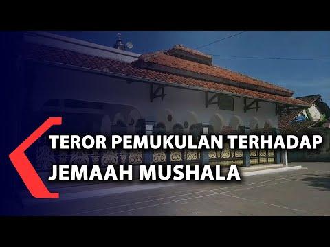 teror pemukulan terhadap jemaah mushala
