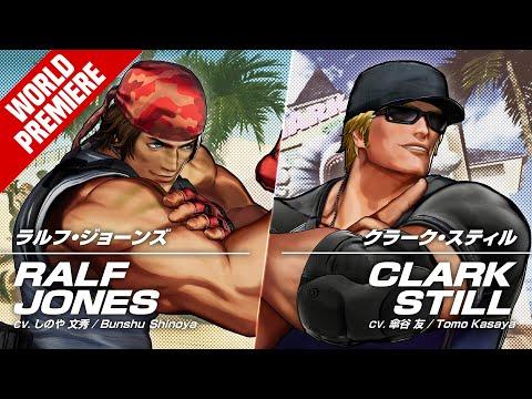 RALF JONES & CLARK STILL?Trailer #19 #20?TEAM IKARI? de The King of Fighters XV