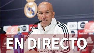REAL MADRID I RUEDA DE PRENSA De ZIDANE En DIRECTO | Diario AS