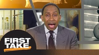 Stephen A. gives Sam Darnold's performance in preseason game a C+ | First Take | ESPN - Video Youtube