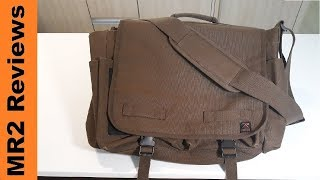 Rothco Concealed Carry Messenger Bag Review
