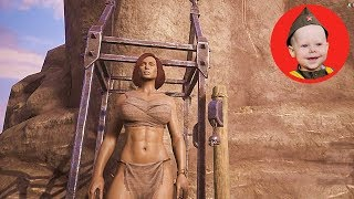 Conan Exiles (2018 PS4): How to Build an Elevator