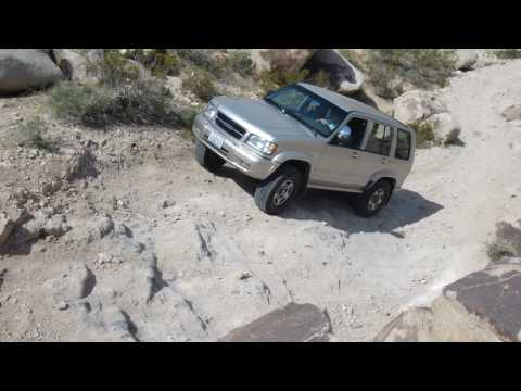 Isuzu Trooper 4×4 Steep Hill Climb Video