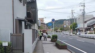 【生配信のおっさん】~瀬田川沿い~
