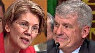 Elizabeth Warren WIPES SMIRK OFF Wells Fargo CEO Tim Sloan 10/3/2017