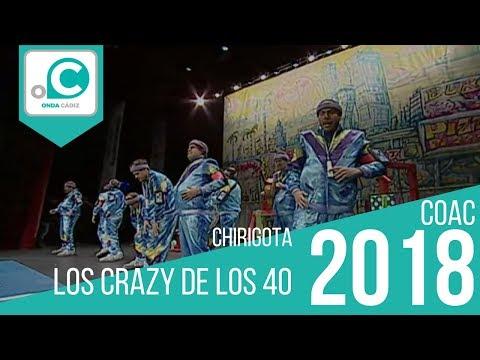 Chirigota, Los crazy de los 40 - Preliminares