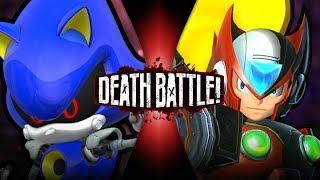 Metal Sonic VS Zero (Sonic VS Mega Man)   DEATH BATTLE!