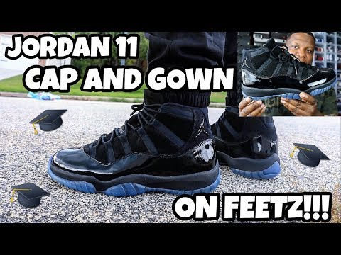 2be8d18c7fd043 JORDAN 11 CAP AND GOWN PROM NIGHT ON FEET REVIEW!!! MP3