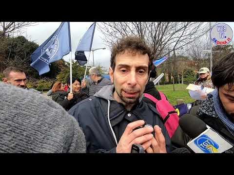 Manifestazione animalista a Siena contro il Palio, le interviste
