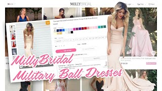 Military Ball Dresses | Affordable Prom/Formal Dress Shopping Online | MillyBridal