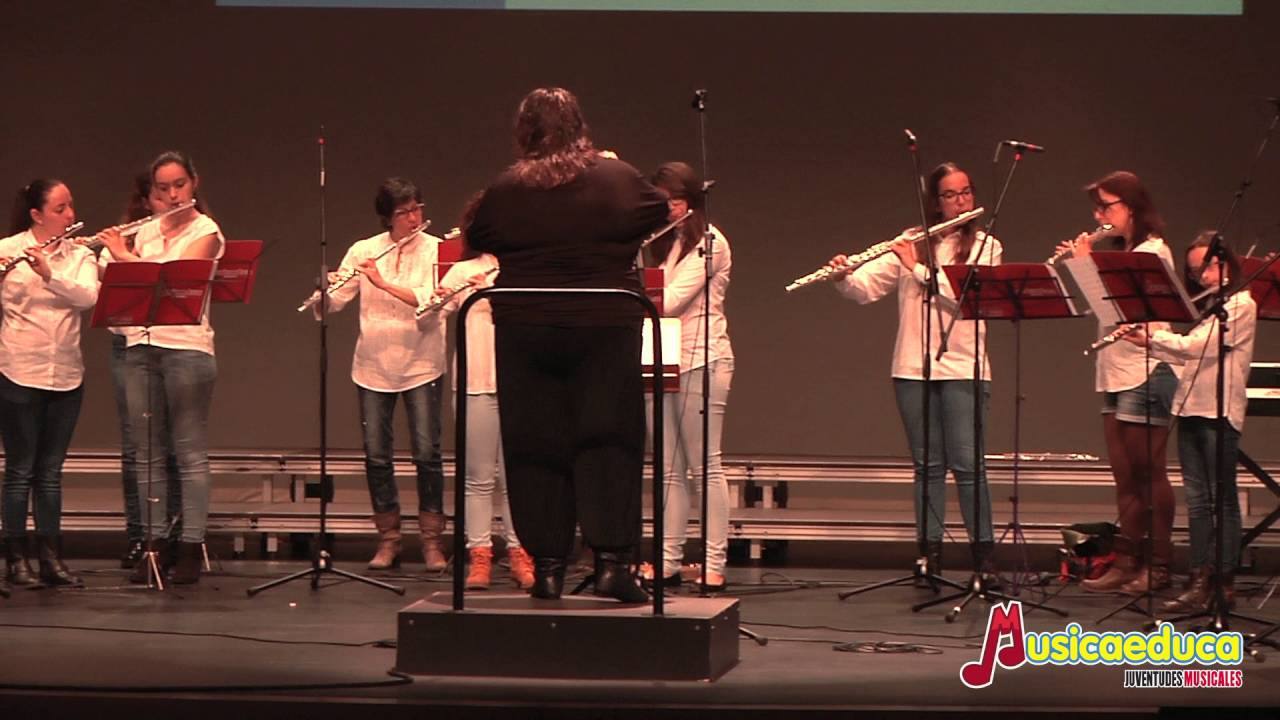 Tango für Elise - Orquesta de Flautas Musicaeduca Juventudes Musicales de Alcalá