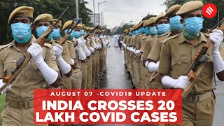 Coronavirus on August 7, India crosses 2 million Covid-19 cases - Download this Video in MP3, M4A, WEBM, MP4, 3GP